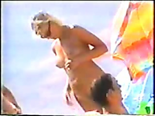 Porn Tube of Nudist Beach Voyeur Camera
