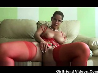 Porno Video of German Milf Dirty Talk & Dildo