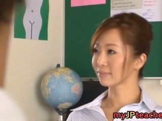 Porno Video of Kaori Hot Japanese Teacher Getting