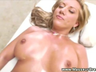 Porno Video of Bigbreasted Babe Enjoys A Stimulating Massage