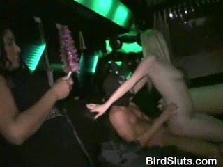 Porno Video of Women Fucked In A Party Bus With Male Strippers