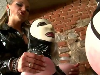 Porn Tube of Femdom Hoes Try Some Lezdom With Latex