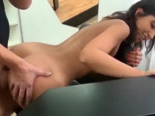 Porno Video of Innocent Amateur Girl Payed For Flashing Her Ass And Fucking