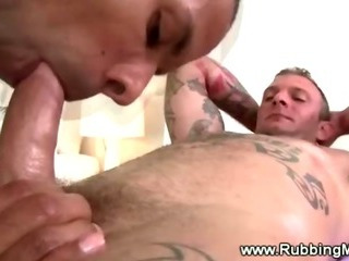 Porn Tube of Straight Guy Gets A Cock Massage
