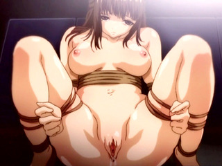 Porno Video of All Tied Hentai Girls Brutally Gangbanged