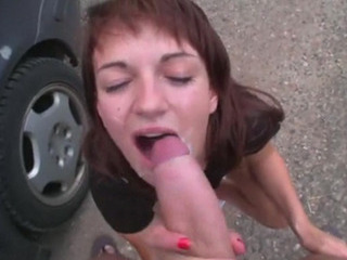 Porno Video of Slutty Chick Picked Up And Fucked In Public