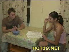 Boyfriend's gal fucked