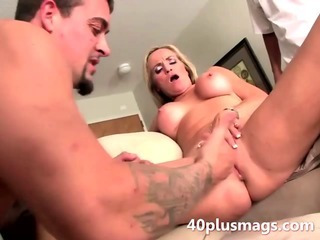 Porno Video of Blonde Milf Sue Fucking With Rough Guy