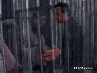 Porn Tube of Pigtailed Girlfriend Gets Ass Fucked In Jail