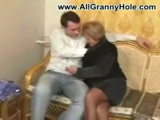 Porn Tube of German Mature Mom Fucked By Younger Guy