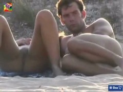 Public Handjob at Nude beach