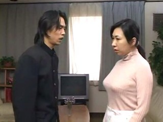 Porno Video of Japanese Mother Get D By Son And Cums Inside Her