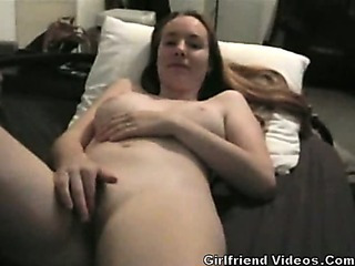 Porno Video of Gf Rubs Clit Until Orgasm