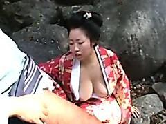 Hot Geisha Girl