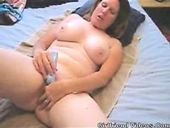 Chubby GF Vibrator Orgasm