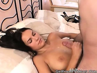 Porno Video of Hottie Jerking Off Cock