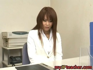 Porno Video of Megu Ayase Lovely Asian Teacher