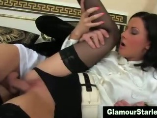 Porno Video of Stockings Clothed Fetish Hoe Gets Fucked