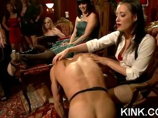 Porn Tube of Hot Babe Bound And Ass Fucked