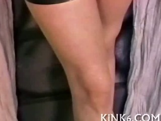 Porno Video of Babe Examined And Tied Up