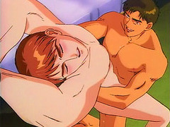 Hentai gay fucked in his asshole