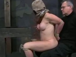Porno Video of Sexy Hot Girl In Bondage Action