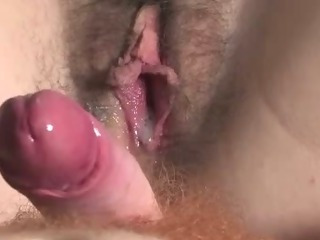 Porn Tube of Australian Made Hairy Creampie Redhead Bitch