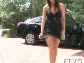 Porno Video of Glass Dildo In Her Butt