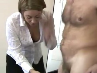 Porn Tube of Office Cfnm Sexy Bitches Suck On Cock