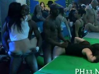 Porno Video of Group Sex Wild Patty At Night Club