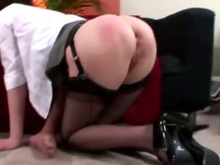 Porn Tube of Mature British Lady In Stockings Fucks Her Hubby