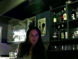 Porno Video of Bargirl Gives A Public Blowjob