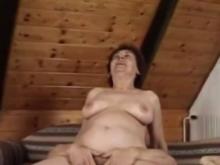 Sex Movie of Grandma Alian Enjoys Her Younger Friend