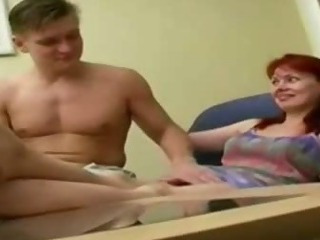 Porn Tube of Sexy Redhead Mature Woman