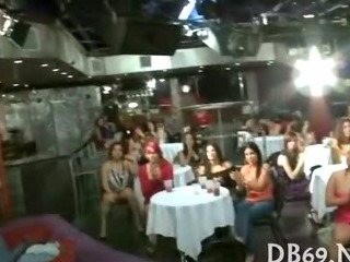 Porno Video of Tons Of Group Sex On Dance Floor