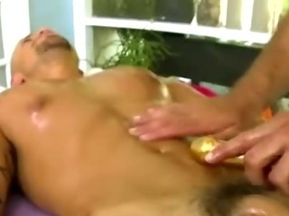 Porno Video of Straight Latino Amateur Gets Rimjob