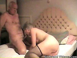 Sex Movie of Granny Sucking Dick