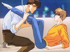 Hentai gay having hot forplay fun