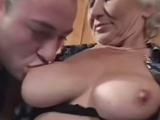 Sex Movie of Grandma Eager For Younger Dicks