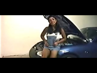 Porn Tube of Hot Indian Model Babe Car Stripping