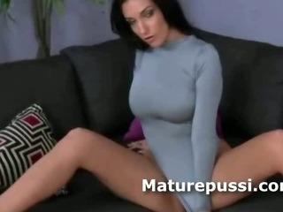 Porno Video of Milf With Incredible Ass Wants Cock And She Strips Down To Give Nice Blowjob