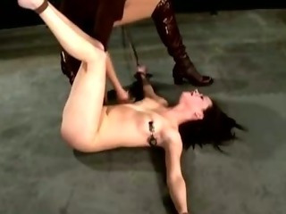 Porn Tube of Dominating Lezdom Fetish Whore