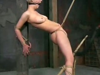 Porno Video of Hard Nipples In Clamps