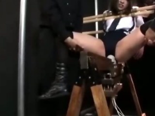 Porno Video of Magic Wand Torture - The Punishment Of The Small Tits