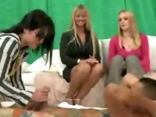 Porno Video of Cfnm Guy Sucked And Fucked By Dominant Chick In Public
