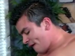 Gay stud and jock go for each others hard ons with their mouths