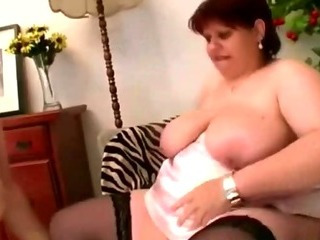 Porno Video of Experienced Bbw Pornstar 3some