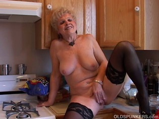 Porn Tube of Very Sexy Grandma Has A Soaking Wet Pussy