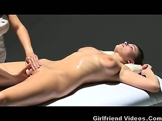 Porn Tube of Nice Long Girl-girl Massage