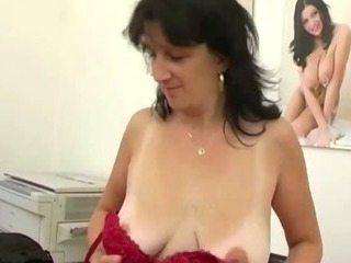 Porno Video of Mature Secretary Giving Pov Blowjob